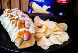Combo Hot Dog Golden Retriver