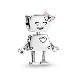 Charm de Plata Bella Bot
