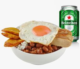 Combo Bowl Paisa y Heineken
