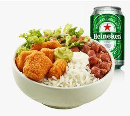 Combo Bowl Kkrk y Heineken