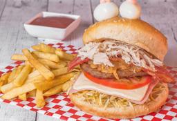 Hamburguesa de Carne Super Especial