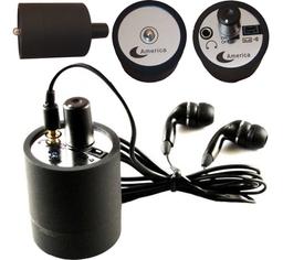 Microfono Espia Spy Bug Para Escuchar a Traves de la Pared 1 U