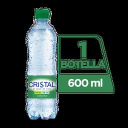 Agua Cristal en Botella Con gas