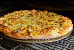 Pizza Luciano Pancetta Mediana