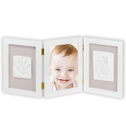 Marco de fotos huellas de bebé