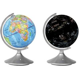Globo planeta y constelaciones 2 en 1