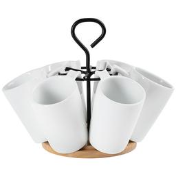 Rack 6 Mugs Espresso 1 U