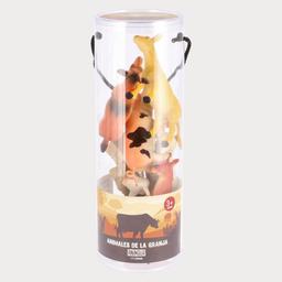 Set Animales Plastico M 1 U