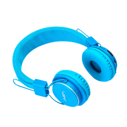 Audífonos NIA Inalámbricos Ajustables  MIC- Azul