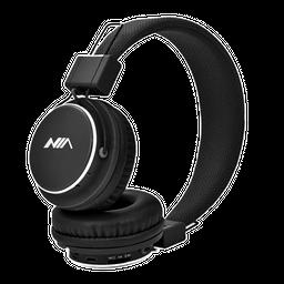 Audífonos NIA Inalámbricos Ajustables  MIC- Negro