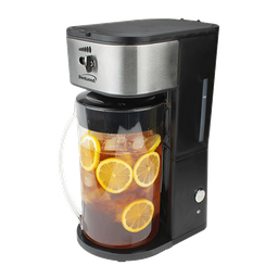 Máquina de té helado y café con jarra 64 oz Brentwood-Negro
