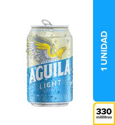 Cerveza Lata Águila Light 330 ml