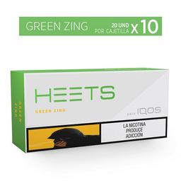 Greenzing - Heets - Cartón X10 Cajetilla 20 Und