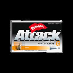 Tratamiento Attack Gatos Hasta 5 Kg 0.5 mL