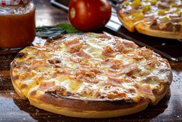 Waffizza Jamón y Tocineta