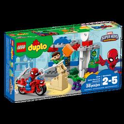 Duplo Lego Aventura de Spiderman Y Hulk 2 - 5 38 U