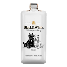 Whisky Black And White 8 Años 200Ml