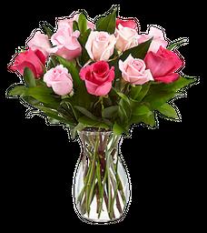 Bouquet de Rosas Tonos de Mama