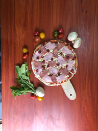 Pizza Carnes Extra-Grande