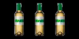 Vino Siete Soles Sauvignon Blanc Reserva 750 Ml X 3 Uds