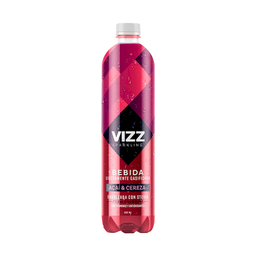 Vizz Sparkling Water-Acai Cereza 600 Ml