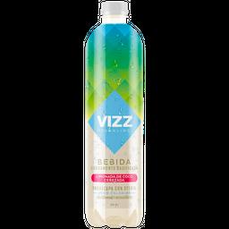 Vizz Sparkling Water-Limonada De Coco Con Cereza 600 Ml