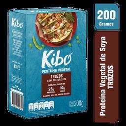 Proteina Vegetal de Soya Kibo Trozos 200G