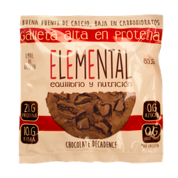 Galleta Proteina Chocolate Decadence X 80 G