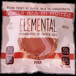 Galleta Proteina Moka X 80 G