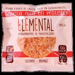 Galleta Proteina Coco X 80 G