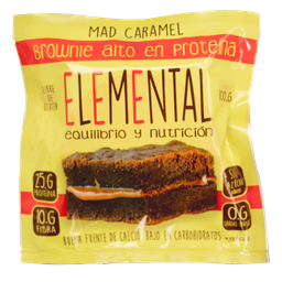 Brownie Proteina Mad Caramel 100 G