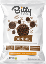Bitty Cookieland Chocolate 40 G