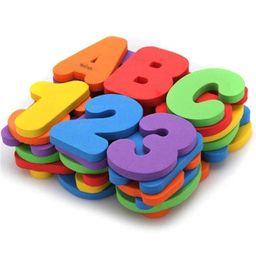 Set de letras y numeros para ducha