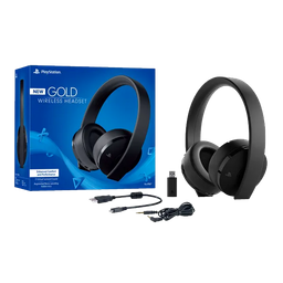 PS4 Gold WLS Headset