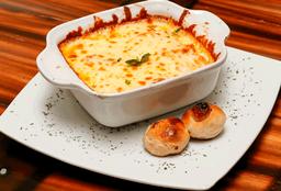 Lasagna Pollo, Carne y Champiñones