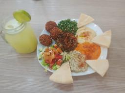 Mixto árabe + Limonada