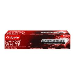 Colgate Crema Luminous White Carbon