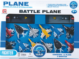 Set Lanza Aviones X 12 Caja