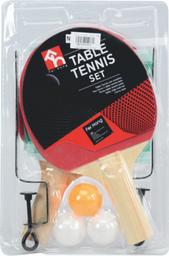 Raquetas Pin Pong Con Red Blister