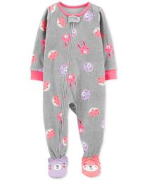 Pijama animales Gris