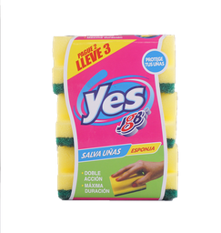 Esponja con salva uñas pague 2 lleve 3  yes