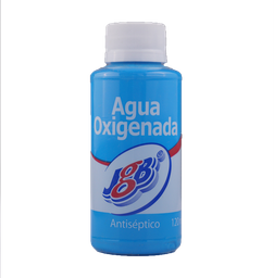 Agua oxigenda - Jgb - Botella 120 ml