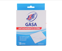 Gasa esteril x 7,5 cm - Jgb - Caja 18 Und