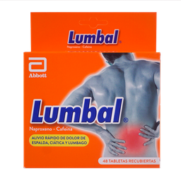 Anagelsico - Lumbal - Caja x8 Blisters 6 Und