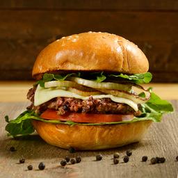 Clásica Res I Burger Sencilla