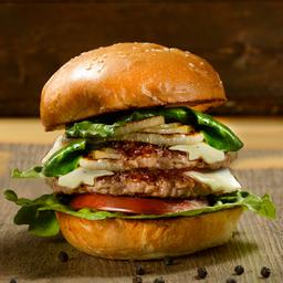Clásica CerdoI Burger Doble