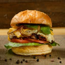 Clásica PolloI Burger Sencilla