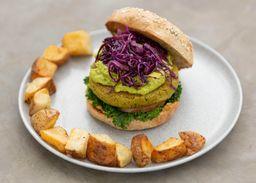 Vegan Burger Falafel