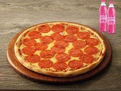 Pizza Mediana Gaseosas 400 ml