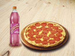 Pizza Mediana con Gaseosa 1,5L